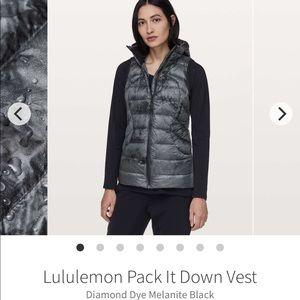 Sz 8 Lululemon Pack it down vest